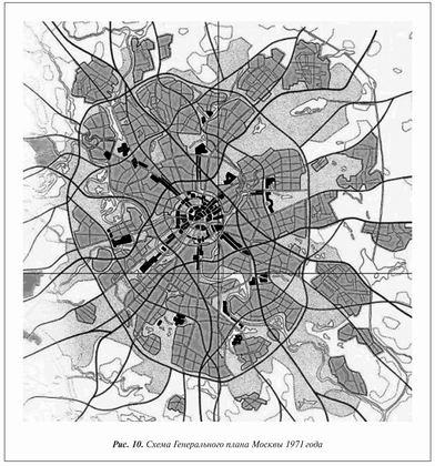 план Москвы 1971 года,